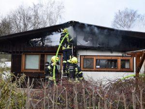 Brandeinsatz in Mauerbach