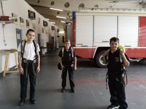 Die Feuerwehrjugend und der Atemschutz