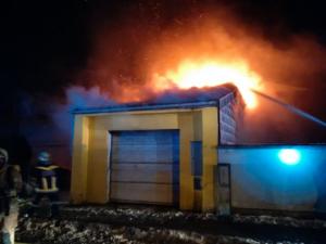 Garagenbrand in Tullnerbach