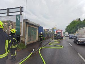 Trafobrand Linzerstraße